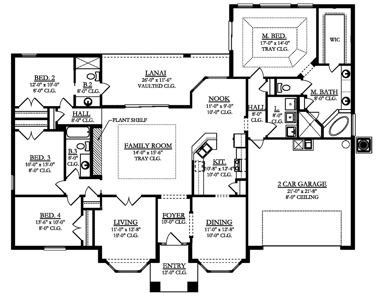 Emerald house plan home construction floor plans elegant for Home construction plans
