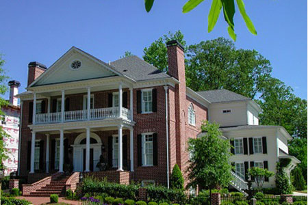 Colonial house plans architectural styles from elegant house plans - Elegant colonial architectural designs ...