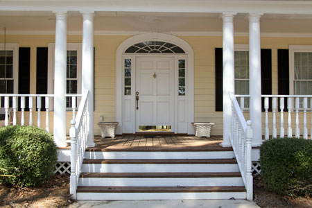 Covered Porch Plans | Architectural Styles from Elegant House Plans