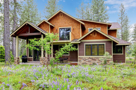 Rustic ranch house plans architect home plan designs Rustic mountain house plans