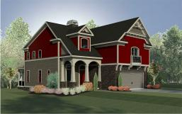Brandywine House Plan Home Building Design