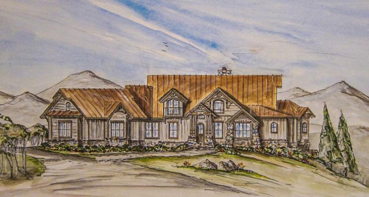 Gunsmoke ranch house plan country western ranch style for Western ranch house plans
