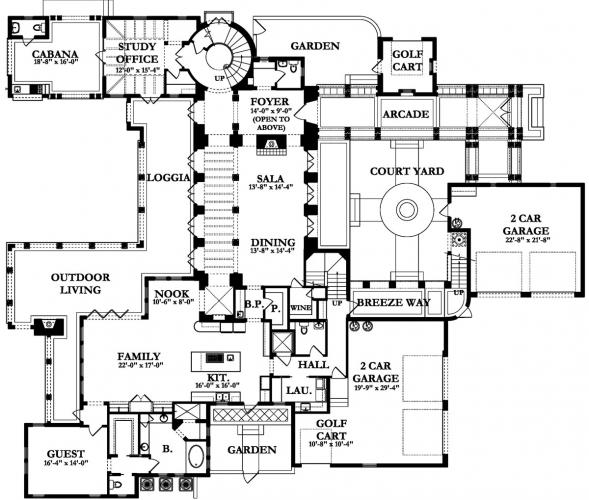House Plans, Blueprints for custom home building contractors