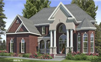 Starnes Luxury House Plans Blueprints Architectural Drawings