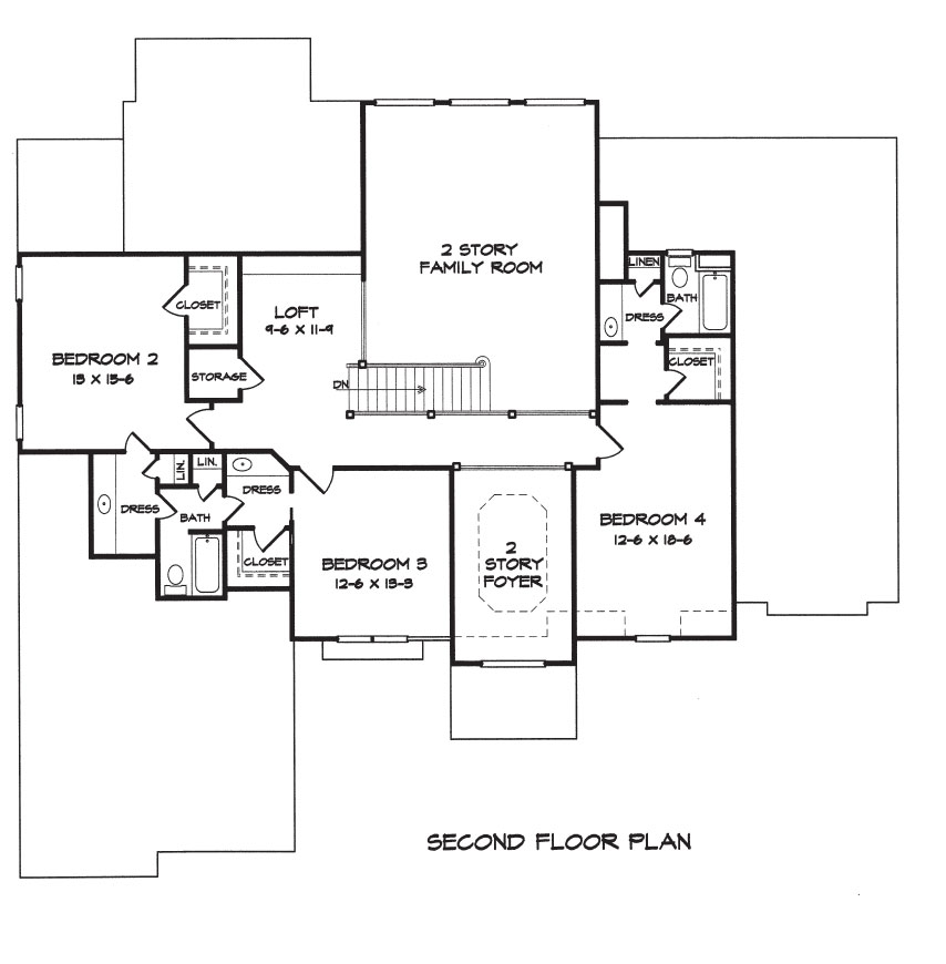 Williamsburg House Plans Builders Floor Plans Architectural Drawings