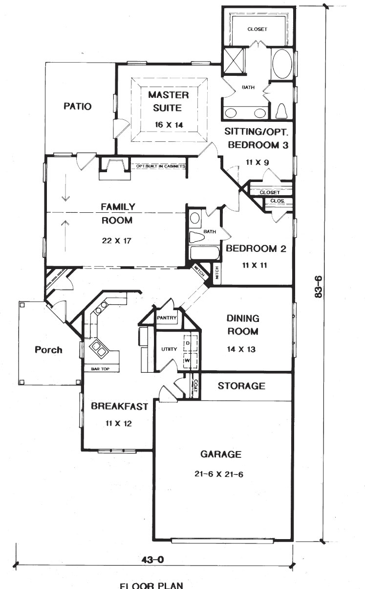 lovely the willow house plan #7: willow Floor Plans Blueprints